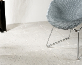 Antiqued Navarra Blue Limestone