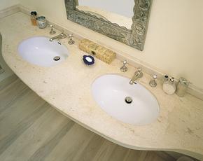 Limestone Vanity Top