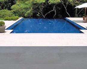 St Aubin Limestone Pool Surround