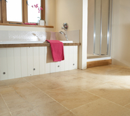 Tumbled Aspendos Tavertine Bathroom
