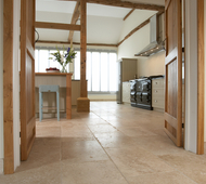 Tumbled Aspendos Travertine Kitchen