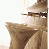Slim Travertine Basin