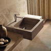 Square Travertine Basin