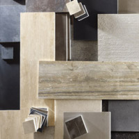Stone tile selection